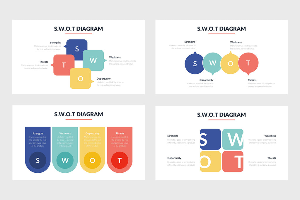 SWOT Template for PowerPoint - Presentation Templates on Slideforest