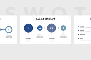 SWOT Analysis Powerpoint Template 4 - Presentation Templates on Slideforest