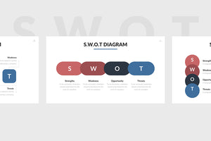 SWOT Analysis Powerpoint Template 5 - Presentation Templates on Slideforest
