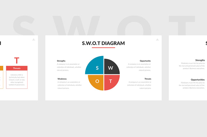 SWOT Chart PowerPoint Template - Presentation Templates on Slideforest
