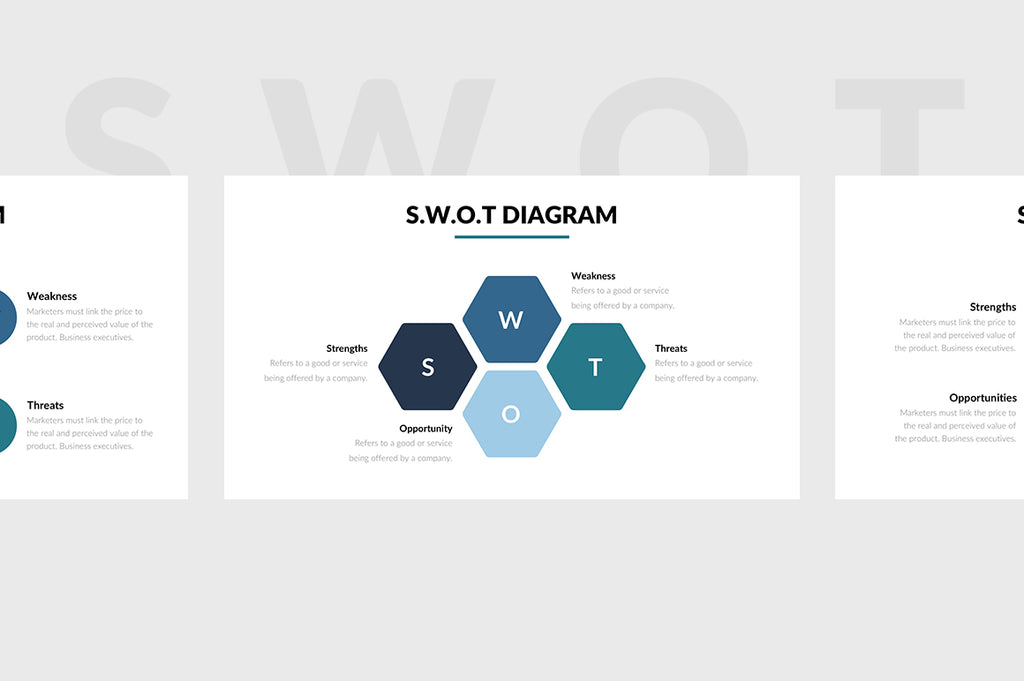SWOT Chart PowerPoint Template 3 - Presentation Templates on Slideforest