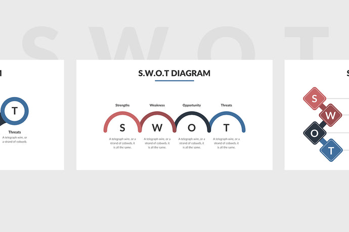 SWOT Chart PowerPoint Template 5 - Presentation Templates on Slideforest