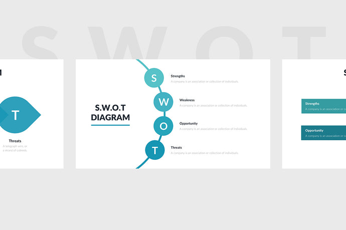 SWOT Diagram PowerPoint Template - Presentation Templates on Slideforest
