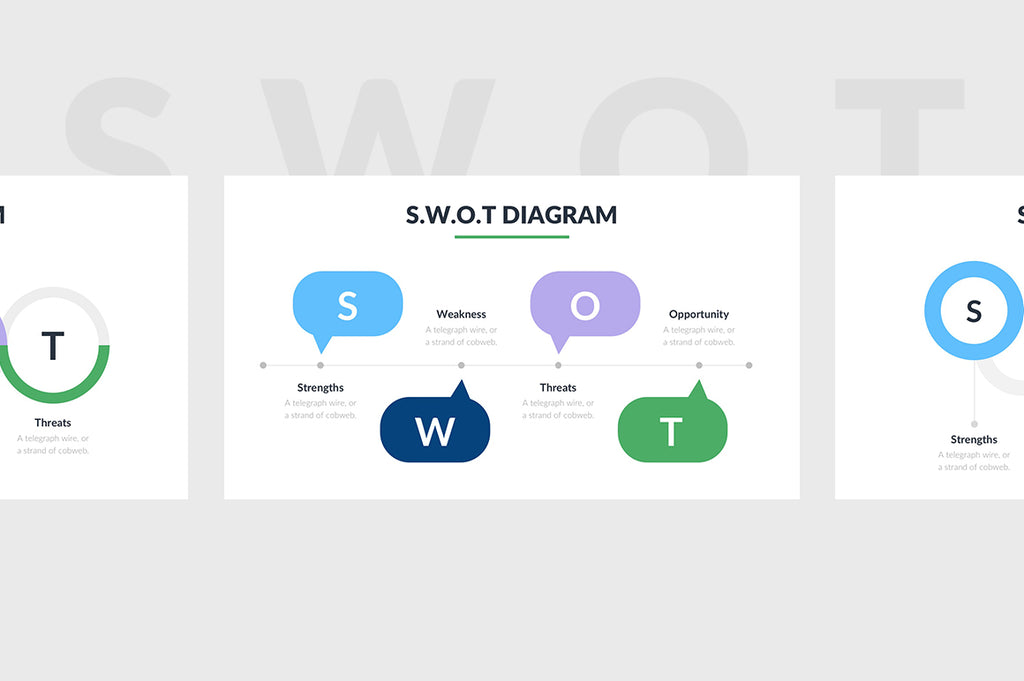 SWOT Diagram PowerPoint Template 2