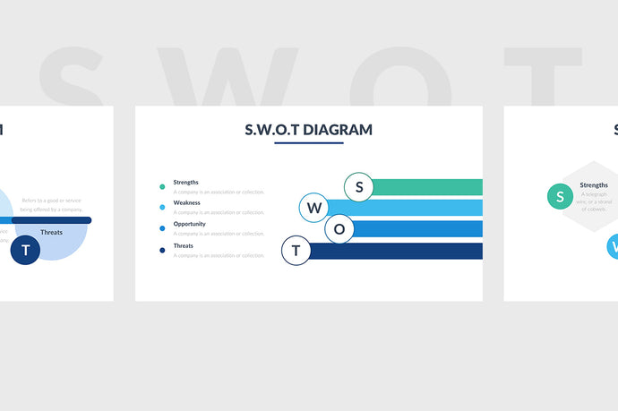 SWOT Slides PowerPoint Template - Presentation Templates on Slideforest