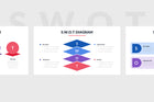 SWOT Slides PowerPoint Template 2 - Presentation Templates on Slideforest