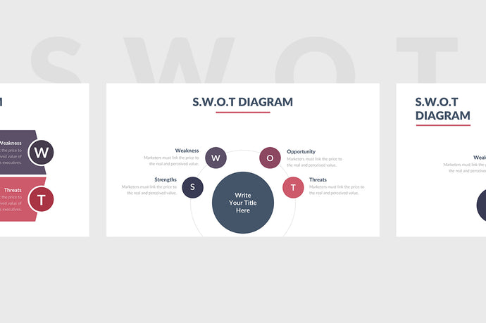SWOT Template for PowerPoint 2 - Presentation Templates on Slideforest