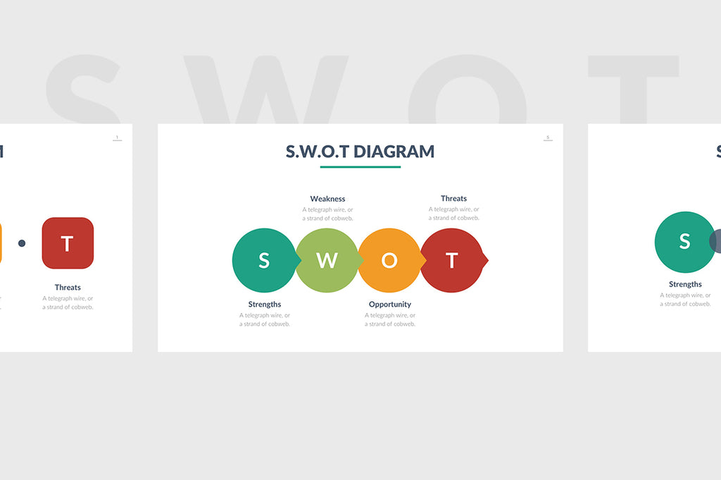 SWOT Analysis Powerpoint Template 3