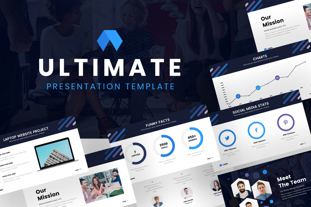 Ultimate PowerPoint Template - Presentation Templates on Slideforest