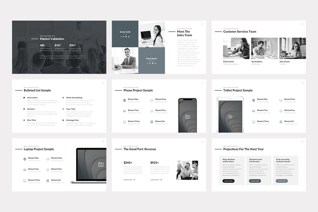 Wyatt Keynote Template - Presentation Templates on Slideforest