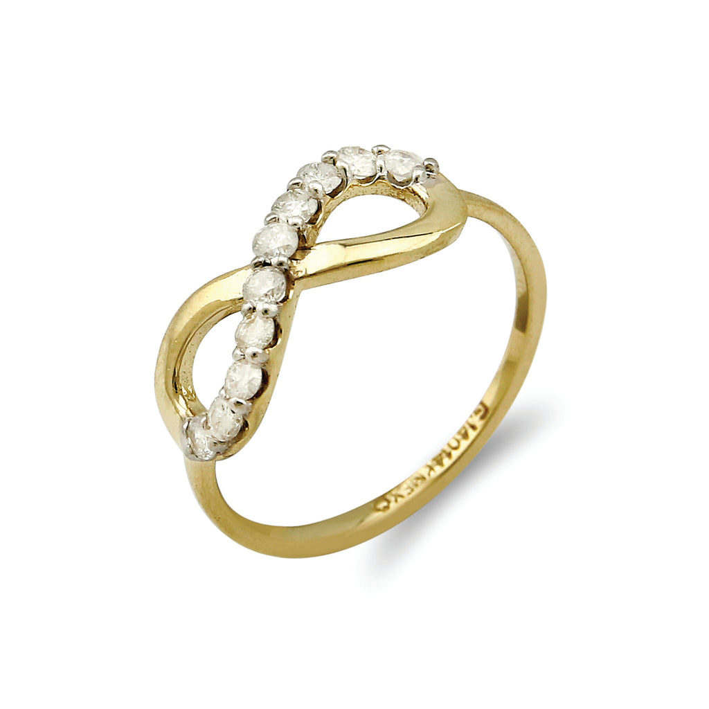 Infinity 10 Diamond Eternity Ring - Handling Fee