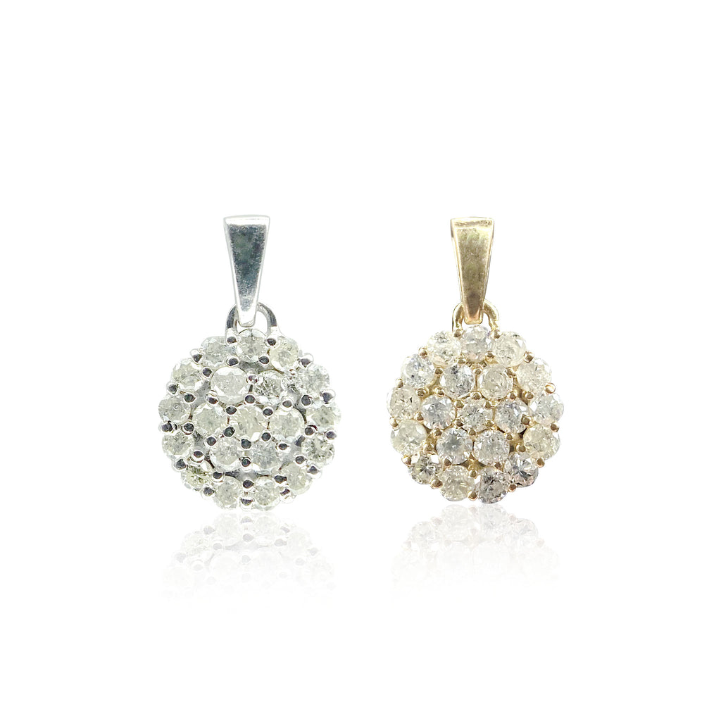 Cluster Pendant 20 Diamond - Handling Fee