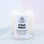 Ocean Breeze • Luxury Soy Candle • Genuine Diamond Inside | 70 hr burn time