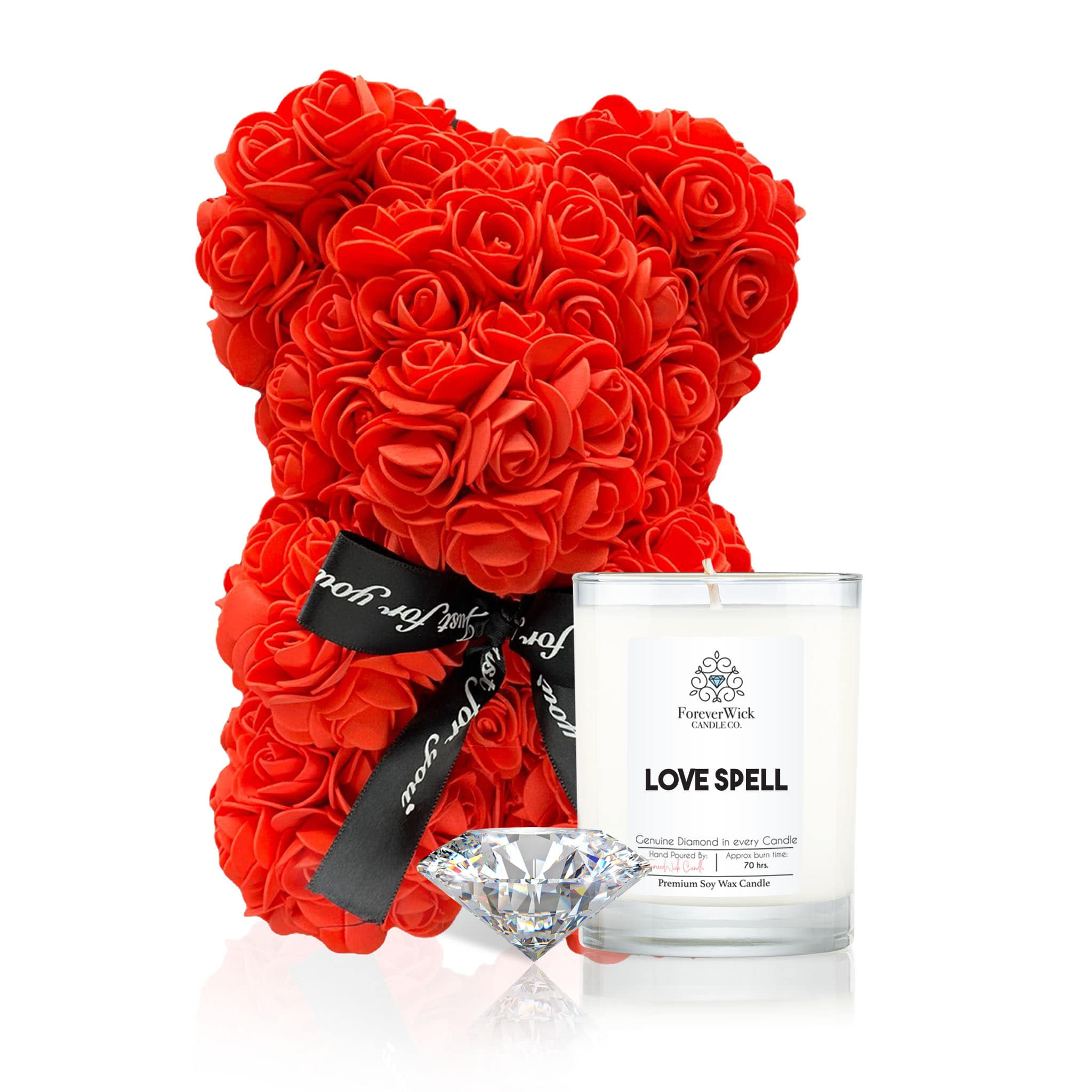 The ForeverRose Teddy Bear Gift Set