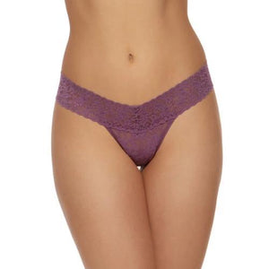 Hanky Panky Low Rise Thong in Valiant Purple - Front