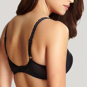 Jasmine Balconnet Bra Black - back view