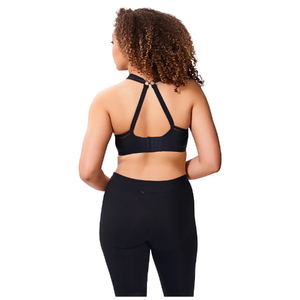 Sculptresse Non Padded Sports Bra in Black - racerback view