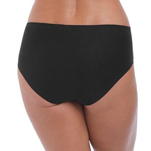 Fantasie Smoothease Mid Brief One Size Black - back view