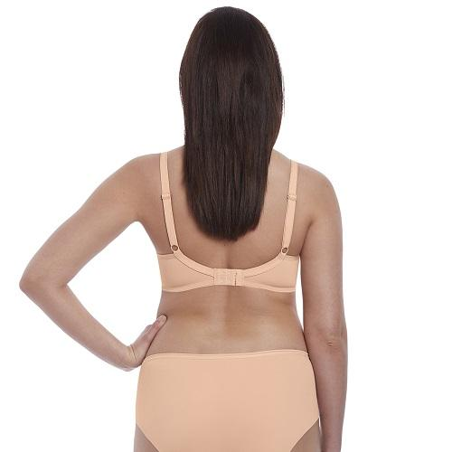 Starlight Moulded Bra Caramel - back view