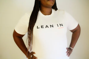 Lean In Tee - Neutral fit