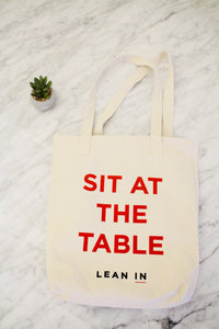 Sit at the Table Tote