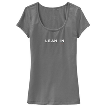 Gray or white tees with Lean In logo for women
