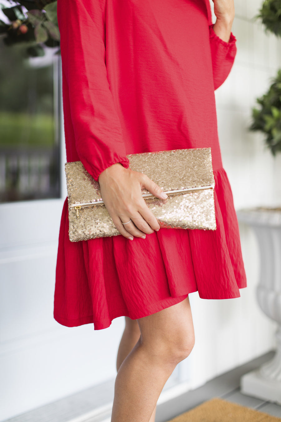 The Jilly Dress - Red