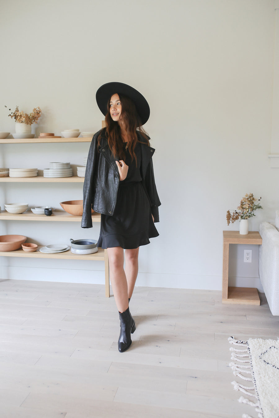 Sawyer Dress - Black (PRESALE - Shipping Mid December)