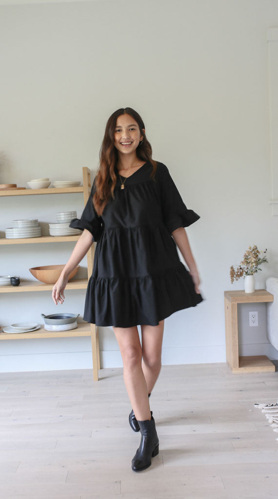 Maxwell Mini Dress - Black