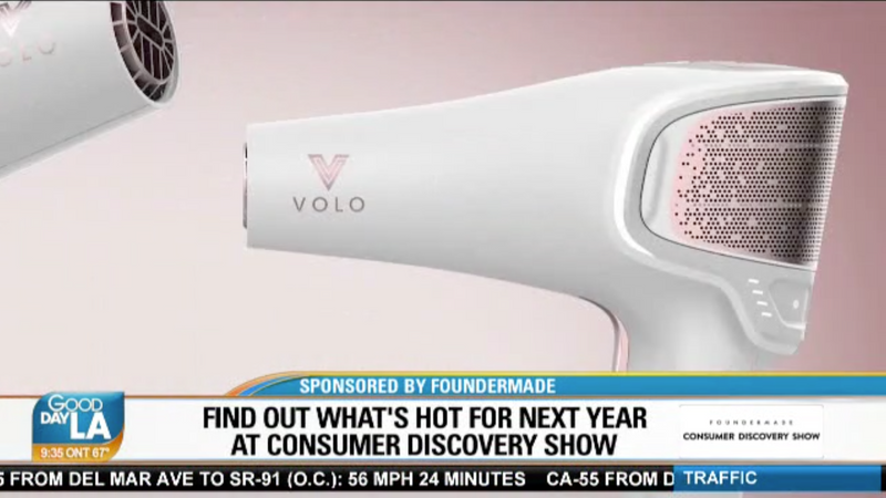 VOLO Beauty on Good Day LA!