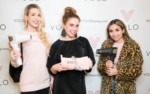 Orange County Product Launch for the VOLO Go Cordless Dryer