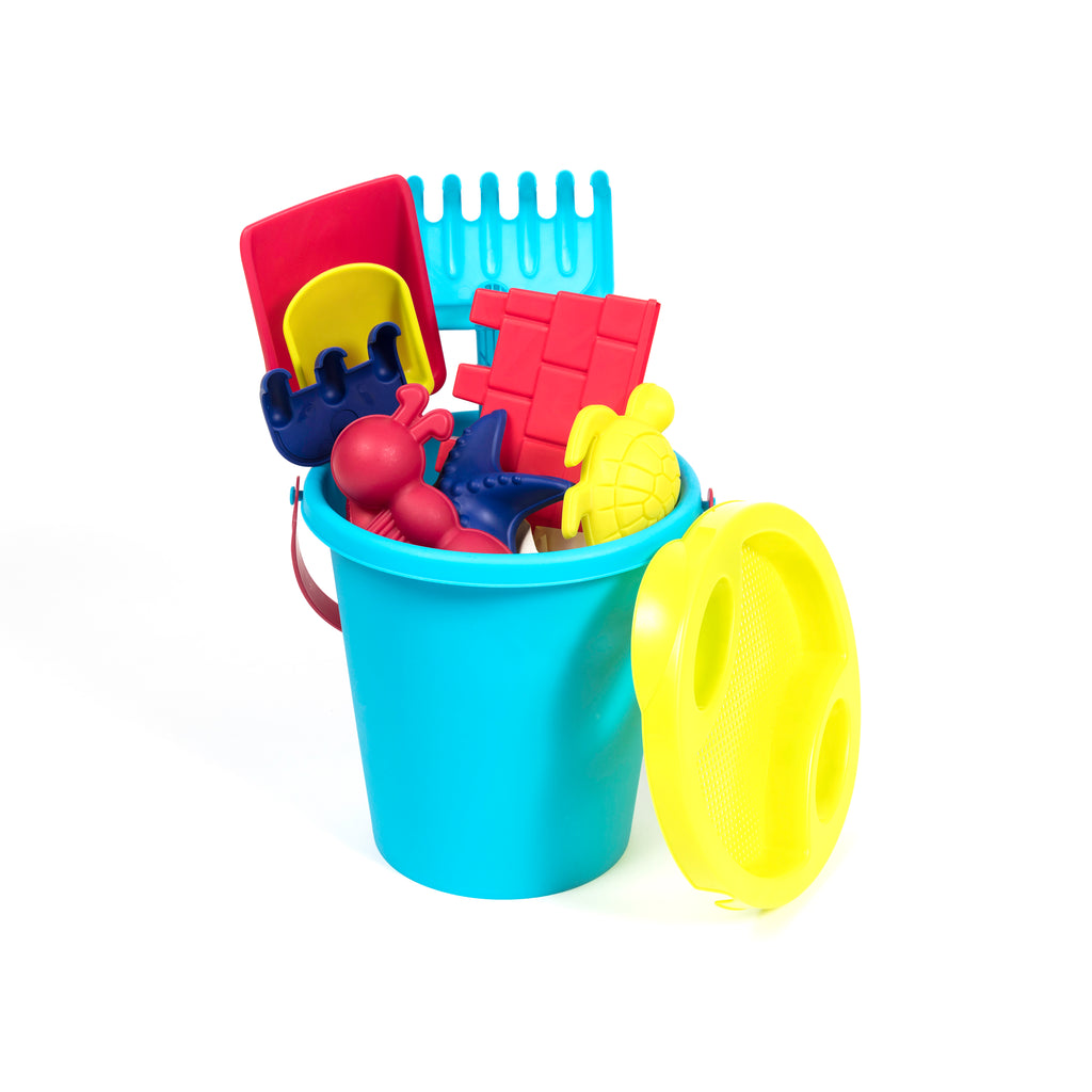 Beach Toys and Sand Castle Bucket Set