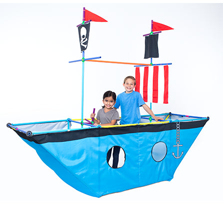 Pirate Ship Play Tent Set