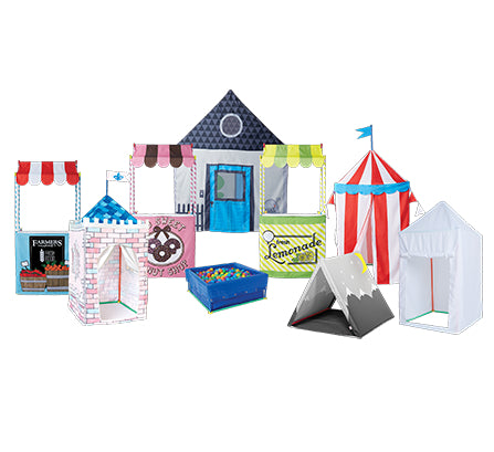 Various Constructions with Medium Fort Building Kit
