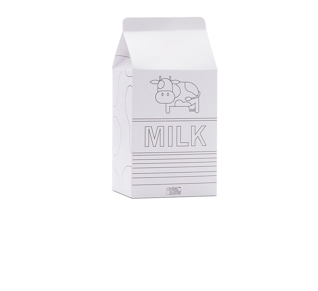 Color Your Milk Carton