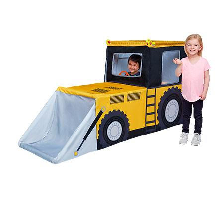 Construction Truck Play Tent Set