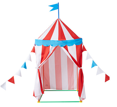 Circus Pop Up Tent Fabric Cover