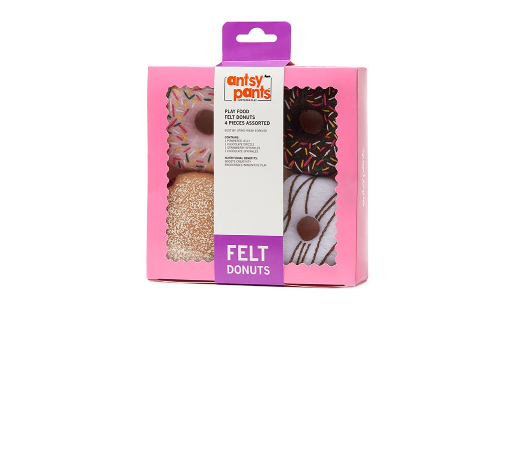 Felt Donuts Play Food