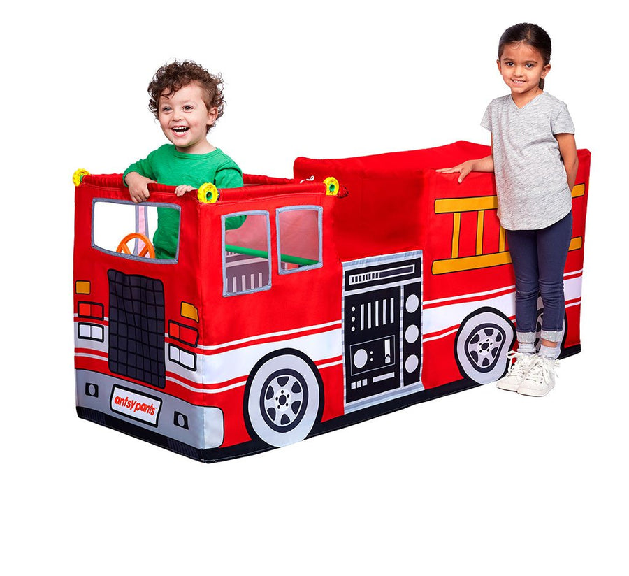Fire Truck Play Tent Set