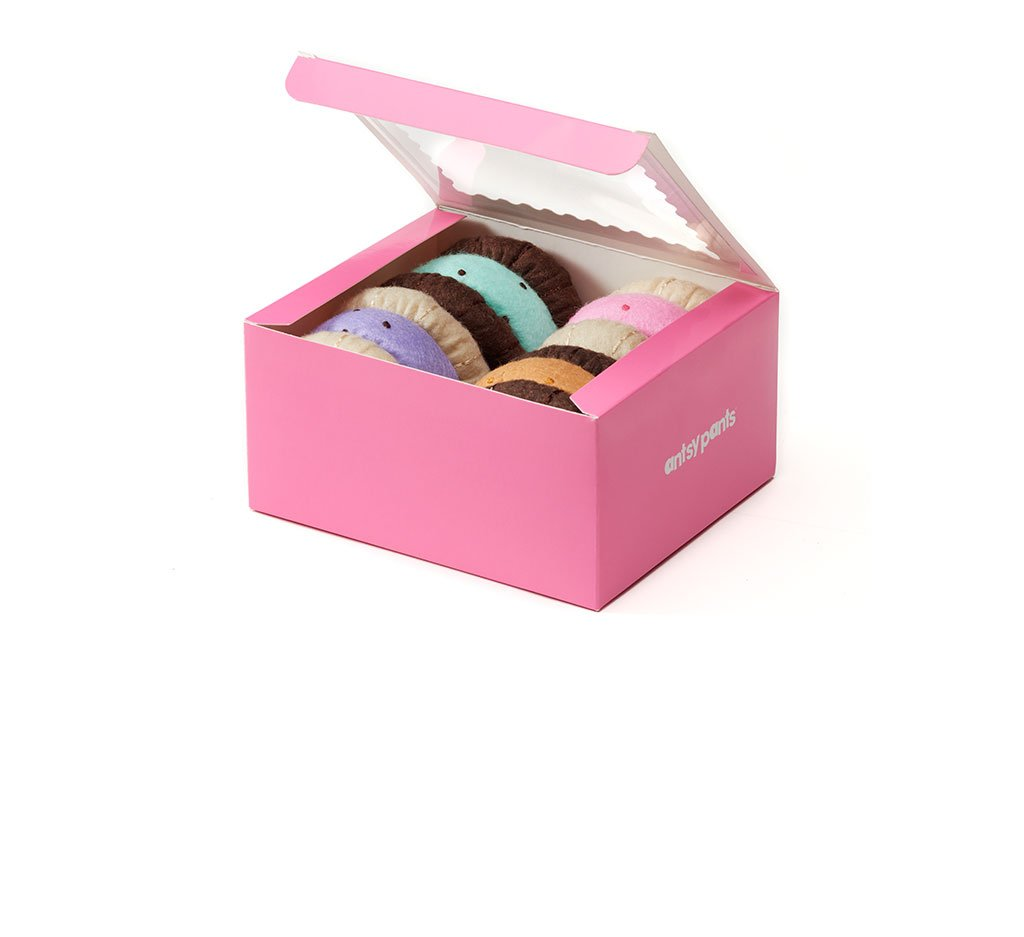 A Box of Felt Ice Cream Sandwiches
