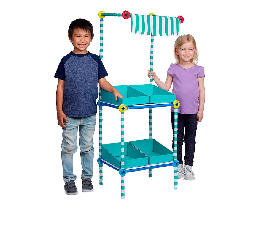Market's Grocery Shelf Play Set