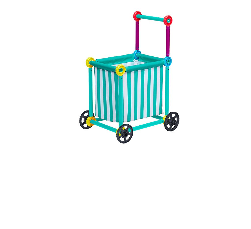 Toy Grocery Shopping Cart