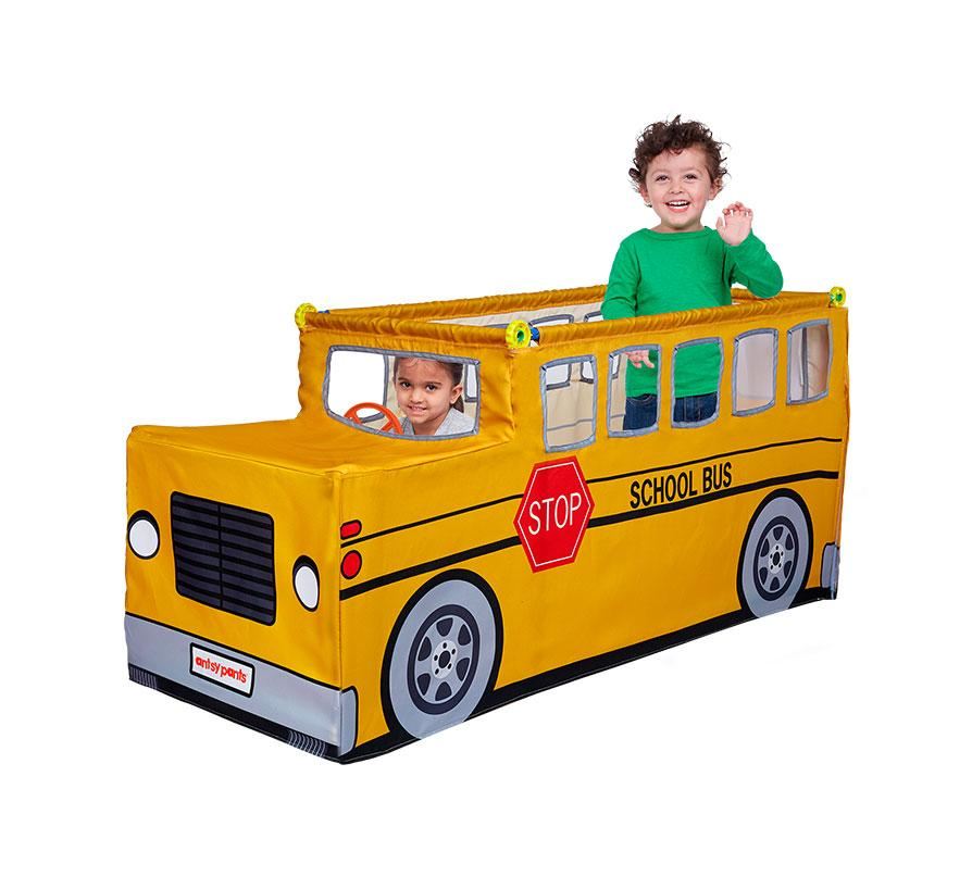 School Bus Play Tent Set