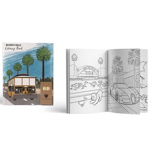 Beverly Hills Coloring Book