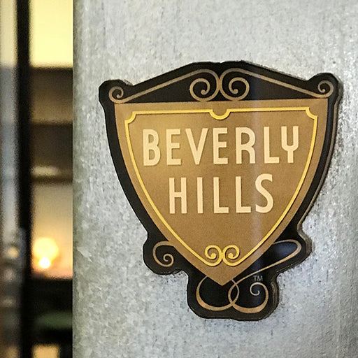 Beverly Hills Shield Magnet
