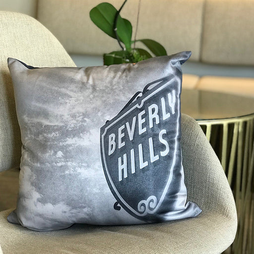 Beverly Hills Shield Pillow