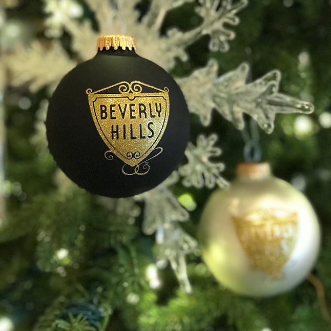 Beverly Hills Shield Ornament