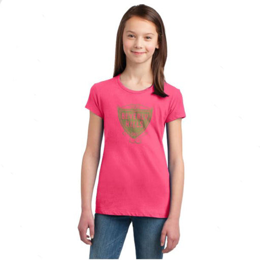 Girls Crew Neck Shirt