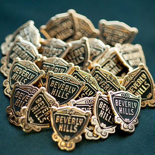 Beverly Hills Shield Lapel Pin