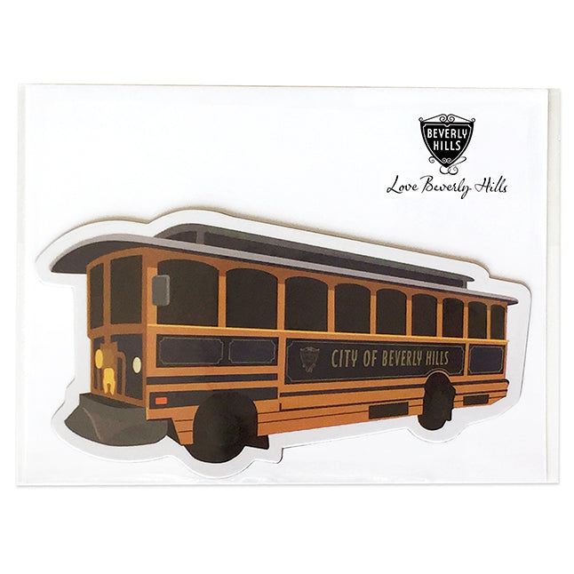 Beverly Hills Trolley Magnet